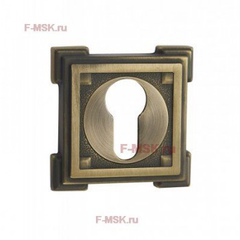 Накладки под цилиндр ET15M матовая бронза (Товар №  ZA11724)