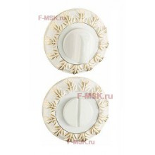 Фиксатор сантехнический BK10WG белый/золото (Товар №  ZA11746)