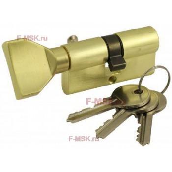 Механизм цилиндрический VC60-3SB матовое золото (Товар №  ZA11753)
