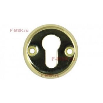Накладки под цилиндр 016PZ PB золото (Товар №  ZA11782)