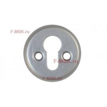 Накладки под цилиндр 016PZ SC матовый хром (Товар №  ZA11785)