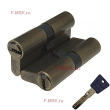 Механизм цилиндрический с повышенной секретностью P60мм - P70мм AB бронза