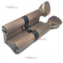 Механизм цилиндрический с повышенной секретностью PC60мм-PC110мм SN матовый никель