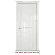 Межкомнатная дверь L 2.100 белый люкс (Товар № ZF113450)