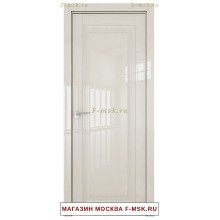 Межкомнатная дверь L 2.100 магнолия люкс (Товар № ZF113451)