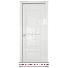 Межкомнатная дверь L 2.102 белый люкс (Товар № ZF113458)