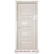 Межкомнатная дверь L 2.106 магнолия люкс (Товар № ZF113475)