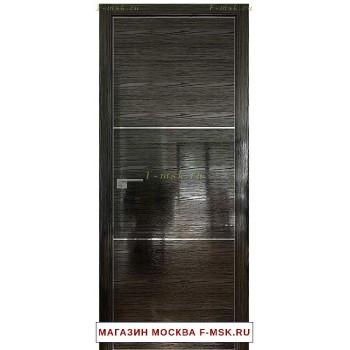 Межкомнатная дверь Дверь 2 STK Pine black glossy (Товар № ZF111818)