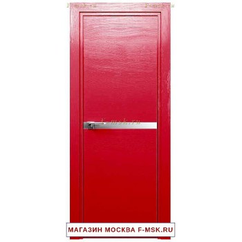 Межкомнатная дверь Дверь 11STK Pine red glossy (Товар № ZF111853)