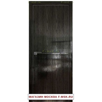 Межкомнатная дверь Дверь 12STK Pine black glossy (Товар № ZF111857)