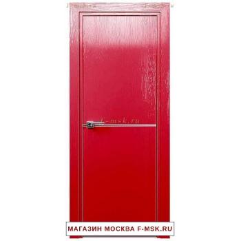 Межкомнатная дверь Дверь 12STK Pine red glossy (Товар № ZF111856)