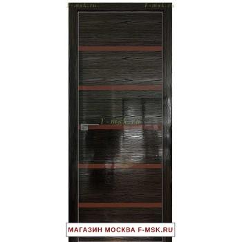 Межкомнатная дверь Дверь 13STK Pine black glossy (Товар № ZF111861)
