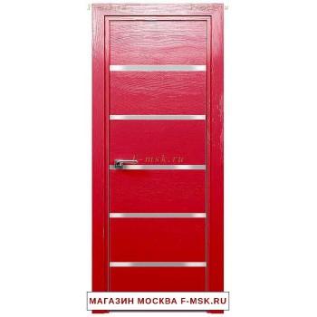 Межкомнатная дверь Дверь 13STK Pine red glossy (Товар № ZF111860)