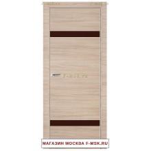 Межкомнатная дверь Дверь 3Z капучино кроскут (Товар № ZF111885)