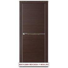 Межкомнатная дверь Дверь 12Z венге кроскут (Товар № ZF111935)
