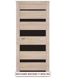 Межкомнатная дверь Дверь 18Z капучино кроскут (Товар № ZF111957)