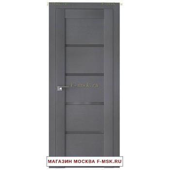 Межкомнатная дверь Дверь 2.09XN грувд серый (Товар № ZF111661)