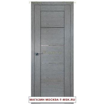 Межкомнатная дверь Дверь 2.11XN грувд серый (Товар № ZF111673)