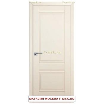 Межкомнатная дверь U1 магнолия сатинат (Товар № ZF112233)
