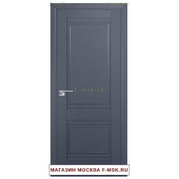 Межкомнатная дверь U1 антрацит (Товар № ZF112237)