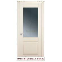 Межкомнатная дверь U2 магнолия сатинат (Товар № ZF112239)