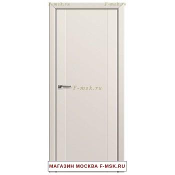 Межкомнатная дверь U20 магнолия сатинат (Товар № ZF112311)