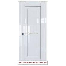 Межкомнатная дверь L23 белый люкс (Товар № ZF112342)