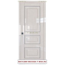 Межкомнатная дверь L25 магнолия люкс (Товар № ZF112349)