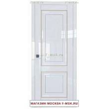 Межкомнатная дверь L27 белый люкс (Товар № ZF112354)
