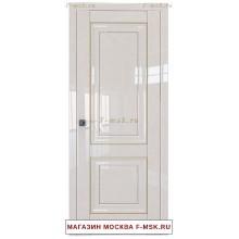 Межкомнатная дверь L27 магнолия люкс (Товар № ZF112355)