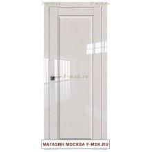 Межкомнатная дверь L100 магнолия люкс (Товар № ZF112385)