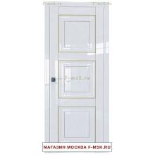 Межкомнатная дверь L96 белый люкс (Товар № ZF112379)