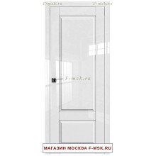 Межкомнатная дверь L105 белый люкс (Товар № ZF112403)