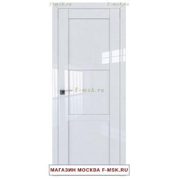 Межкомнатная дверь L115 белый люкс (Товар № ZF112406)