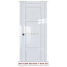 Межкомнатная дверь L117 белый люкс (Товар № ZF112412)