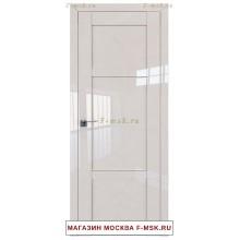 Межкомнатная дверь L117 магнолия люкс (Товар № ZF112413)