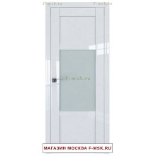 Межкомнатная дверь L118 белый глянец (Товар № ZF112415)