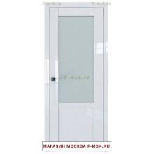 Межкомнатная дверь L120 белый люкс (Товар № ZF112421)