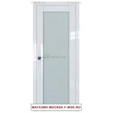 Межкомнатная дверь L122 белый люкс (Товар № ZF112427)