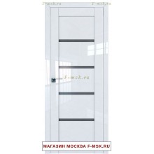 Межкомнатная дверь L2.09 белый люкс (Товар № ZF112430)