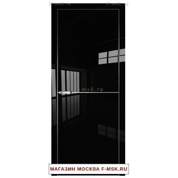 Межкомнатная дверь Дверь 12VG черный глянец (Товар № ZF112540)
