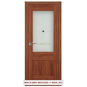 Межкомнатная дверь X2 орех амари (Товар № ZF111718)