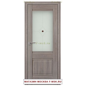 Межкомнатная дверь X2 орех пекан (Товар № ZF111717)