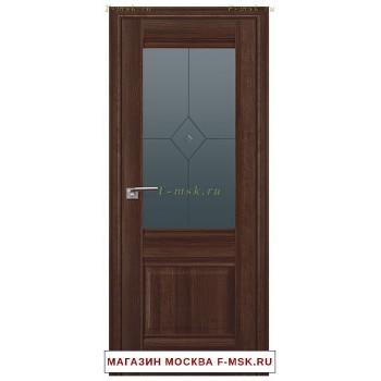 Межкомнатная дверь X2 орех сиена (Товар № ZF111716)