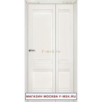 Межкомнатная дверь книжка Складная 1X эш вайт (Товар № ZF112703)