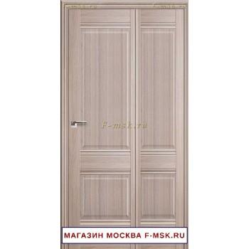 Межкомнатная дверь книжка Складная 1X орех пекан (Товар № ZF112704)