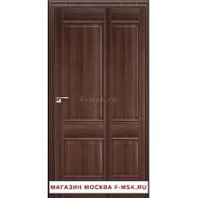 Межкомнатная дверь книжка Складная 1X орех сиена (Товар № ZF112706)