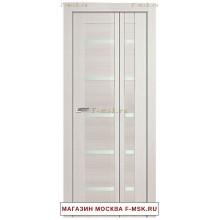 Межкомнатная дверь книжка Складная 7X эш вайт мелинга (Товар № ZF112707)