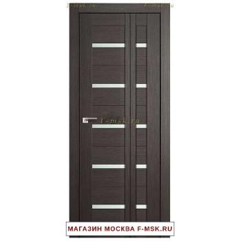 Межкомнатная дверь книжка Складная 7X грей мелинга (Товар № ZF112710)
