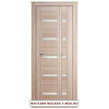 Межкомнатная дверь книжка Складная 7X капучино мелинга (Товар № ZF112708)